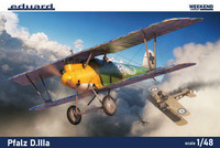 Eduard 1/48 Pfalz D.IIIa (Weekend Edition)