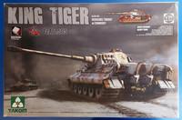 KÄYTETTY Takom 1/35 King Tiger Pz.Abt.505 (Sd.Kfz.182 Henschel Turret w/Zimmerit)
