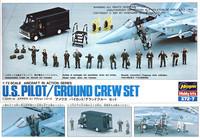 Hasegawa 1/72 U.S. Pilot/Ground Crew Set