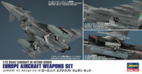 Hasegawa 1/72 Europe Aircraft Weapons Set