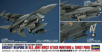 Hasegawa 1/72 Aircraft Weapons: IX (U.S. Joint Direct Attack Munitions & Target Pods)