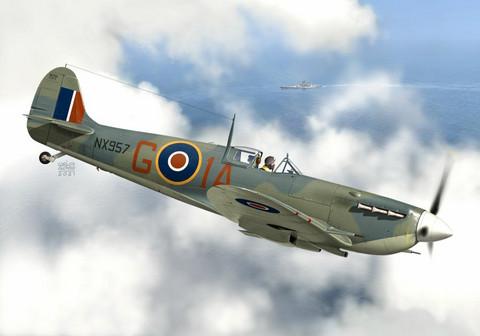 KP 1/72 Supermarine Seafire Mk. Ib