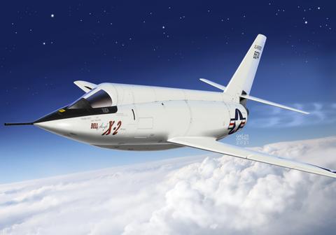 AZ 1/72 Bell X-2