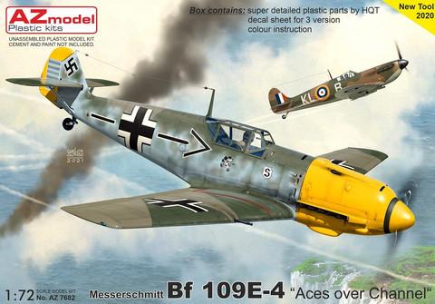 AZ 1/72 Messerschmitt Bf 109E-4