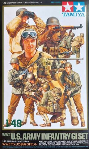 Tamiya 1/48 WWII U.S. Army Infantry GI Set