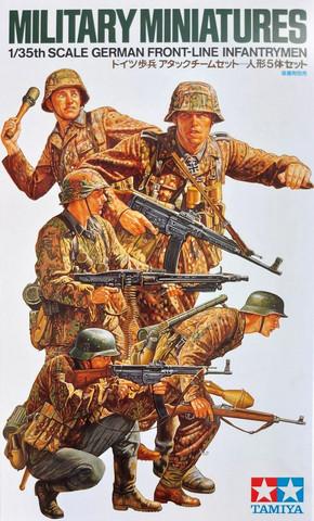 Tamiya 1/35 German Front-Line Infantrymen
