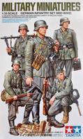 Tamiya 1/35 German Infantry Set (Mid-WWII)