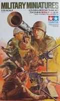 Tamiya 1/35 U.S. Gun & Mortar Team Set