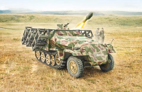 Italeri 1/72 Sd. Kfz. 251/1 Wurfrahmen 40 Stuka Zu Fuss