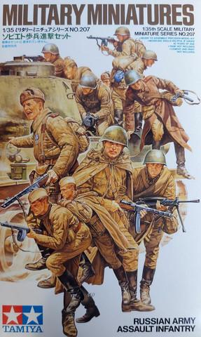 Tamiya 1/35 Russian Army Assault Infantry