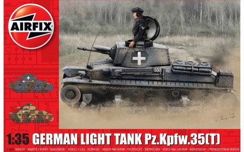 Airfix 1/35 German Light Tank Pz.Kpfw.35(T)