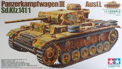 Tamiya 1/35 Panzerkampfwagen III Ausf. L Sd. Kfz.141/1