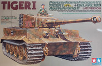 Tamiya 1/35 Panzerkampfwagen VI Tiger I Ausführung E (Sd.kfz.181) Late Version