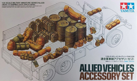Tamiya 1/35 Allied Vehicles Accessory Set