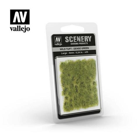 Vallejo Wild Tuft - Dense Green 6mm