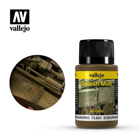 Vallejo Weathering Effects 73.801 European Splash Mud