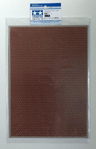 Tamiya Diorama Material Sheet - Brickwork