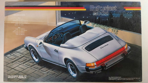 KÄYTETTY Fujimi 1/24 Porsche 911 Carrera Speedster