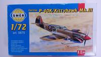 KÄYTETTY Smer 1/72 Curtiss P-40K/Kittyhawk Mk.III