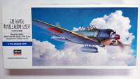 KÄYTETTY Hasegawa 1/72 Mitsubishi A6M5c ZERO FIGHTER (ZEKE) TYPE 52 Hei