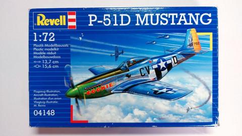 KÄYTETTY Revell 1/72 P-51D Mustang