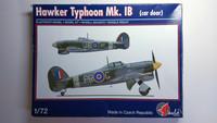 KÄYTETTY Pavla Models 1/72 Hawker Typhoon Mk. IB (car door)