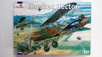 KÄYTETTY Amodel 1/72 Hawker Hector