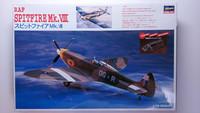 KÄYTETTY Hasegawa 1/72 RAF Spitfire Mk. VIII