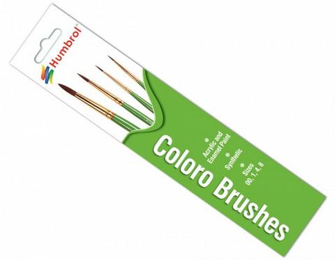 Humbrol Coloro Brushes sivellinsetti