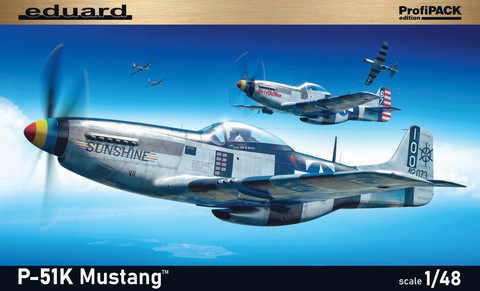 Eduard 1/48 P-51K Mustang (Profipack)