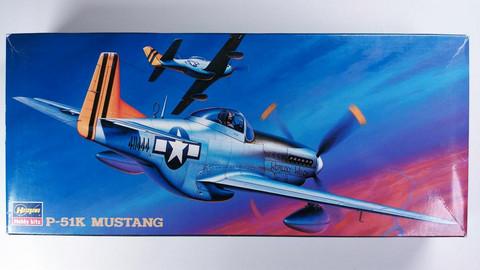 KÄYTETTY Hasegawa 1/72 P-51K Mustang