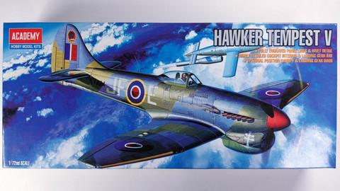 KÄYTETTY Academy 1/72 Hawker Tempest V