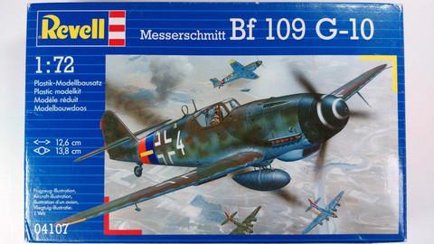 KÄYTETTY Revell 1/72 Messerschmitt Bf 109 G-10