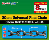 Master Tools Universal Fine Chain ketju, S-koko 0,6 x 1,0mm