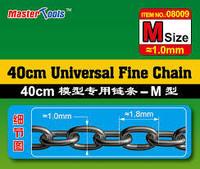 Master Tools Universal Fine Chain ketju, M-koko 1,0 x 1,8mm