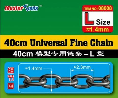 Master Tools Universal Fine Chain ketju, L-koko 1,4 x 2,3mm