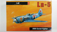 KÄYTETTY Hobby Craft 1/48 Lavochkin La-5 WWII Soviet Fighter