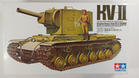 KÄYTETTY Tamiya 1/35 Russian Heavy Tank KV-II Gigant