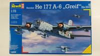 KÄYTETTY Revell 1/72 Heinkel He 177 A-6