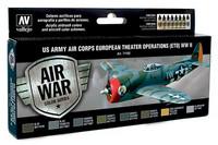 Vallejo Model Air 71.182 US Army Air Corps European theatre operations maalisetti 8x17ml