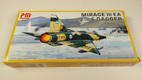 KÄYTETTY PM Model 1/72 Mirage III EA & Dagger