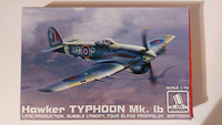 KÄYTETTY Brengun 1/72 Hawker Typhoon Mk. Ib Late production