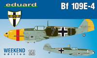 Eduard 1/48 Bf 109E-4 (Weekend Edition)