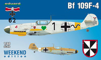 Eduard 1/48 Bf 109F-4 (Weekend Edition)