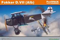 Eduard 1/72 Fokker D. VII (Alb) (Profipack)