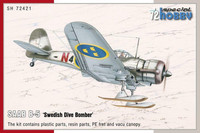 Special Hobby 1/72 SAAB B-5 'Swedish Dive Bomber'
