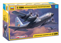 Zvezda 1/72 C-130H American heavy transport plane