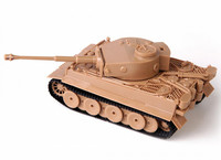 Zvezda 1/72 Tiger I German Heavy Tank (early) SNAP FIT