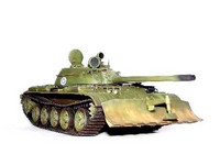Trumpeter 1/35 T-55 model 1958 with BTU-55