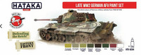 Hataka Red Line Late WW2 German AFV maalisetti 8x17ml
